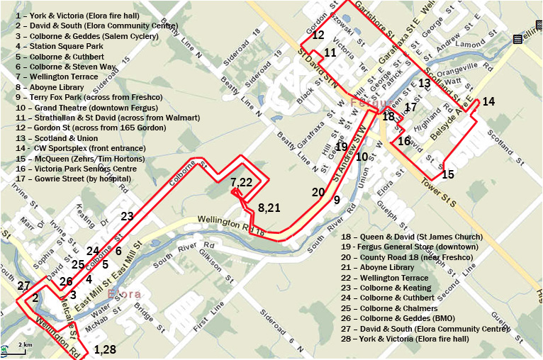 Bus Route Map July 31 2013 v6